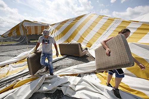 Ichthus - storm damage 2