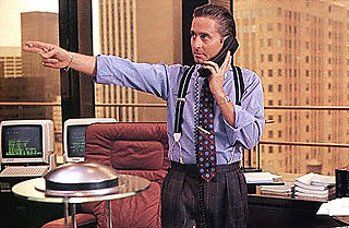 Douglas, Michael as Gordon Gekko