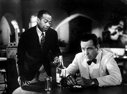 Casablanca -- Wilson and Bogart