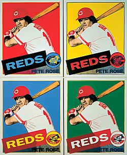 Pete Rose by Warhol