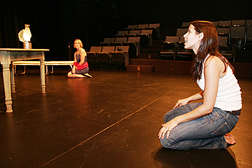 'Candles to the Sun' Rehearsal