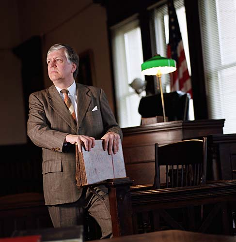 "1999: Roger Leasor as Atticus Finch in ""To Kill a Mockingbird"""