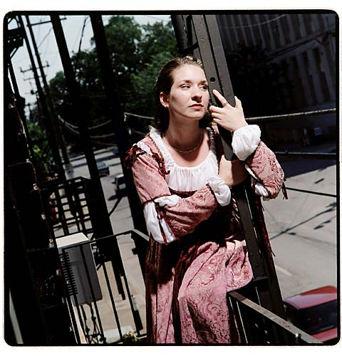 "2000: Anitra Brumagen as Juliet in ""Romeo and Juliet"""