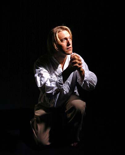 "2004: Mike Fryman as Jesus in ""Jesus Christ Superstar"""