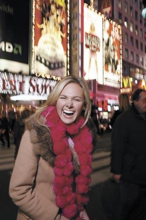 Laura_bell_bundy_laughs_in_times_square